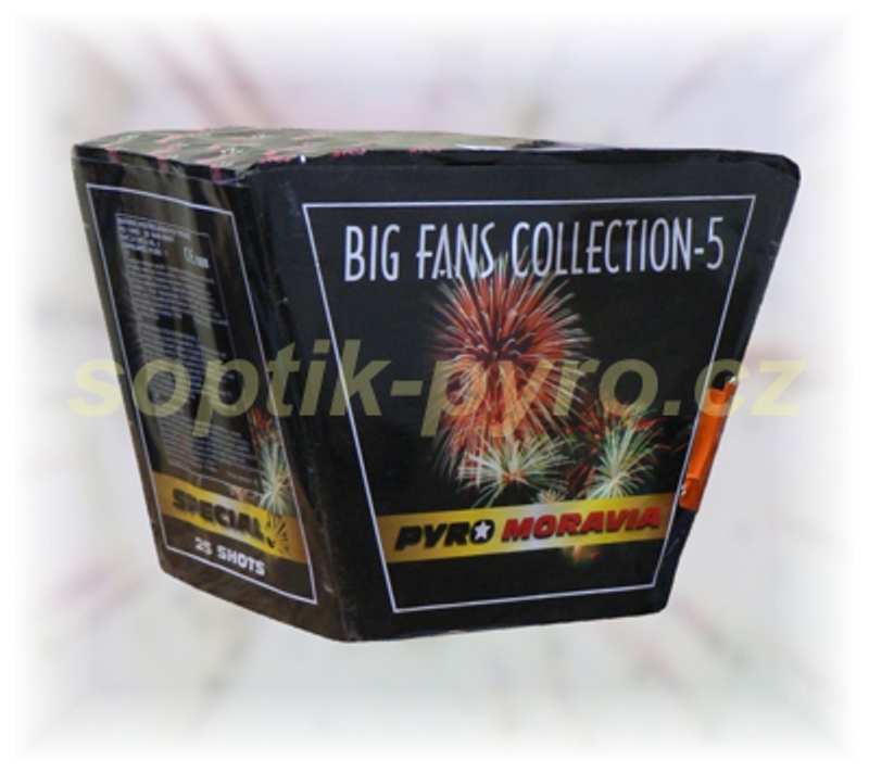 kompakt 25 výstřelů Big Fans Collection 5